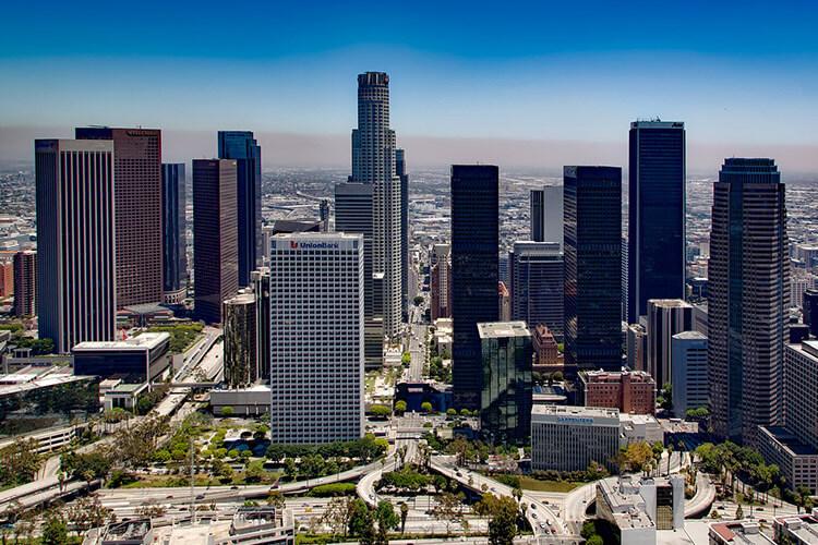 Los Angeles, CA, USA Skyline
