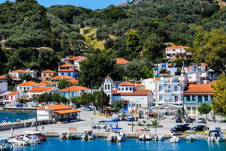 Loutraki, Greece Waterfront