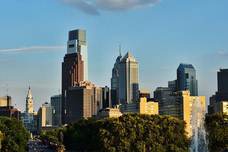 Urban Philadelphia, PA, USA