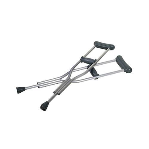 Standard Pair of Underarm Crutches (or Axillary Crutches)