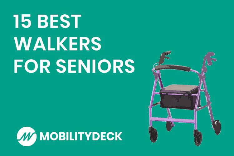 Best Walkers for Seniors Ranked Header Image