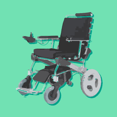 Electric Type of Wheelchair (Motorized Wheelchair)