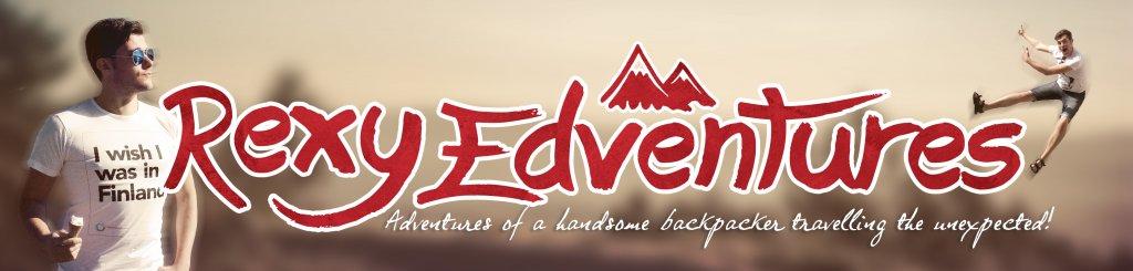 Rexy Adventures Header Logo
