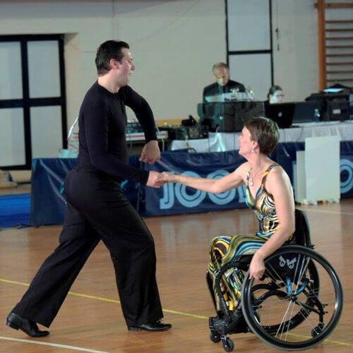 Wheelchair DanceSport Couple